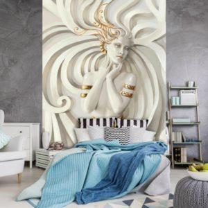 φωτοταπετσαρια τοιχου 3D αγαλμα 10232A