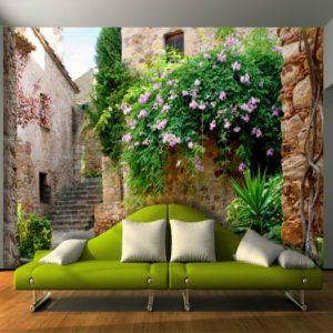 φωτοταπετσαρια τοιχου σοκακι 4-1145