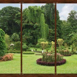 φωτοταπετσαρια τοιχου κηπος 4-1314