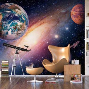 φωτοταπετσαρια τοιχου διαστημα 4-2485