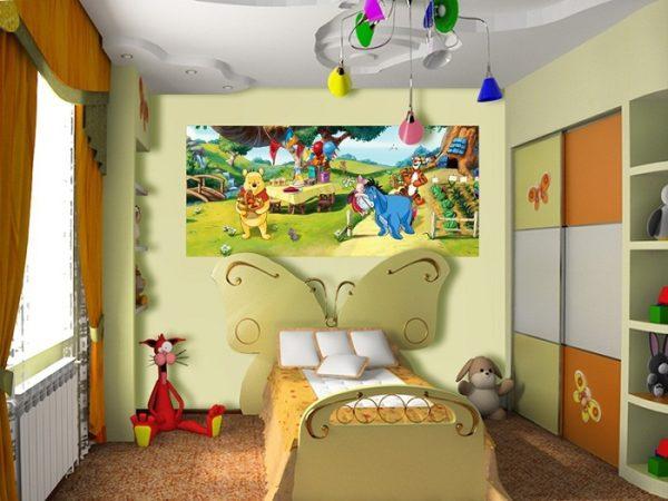 παιδικη φωτοταπετσαρια Γουινι 1-5316