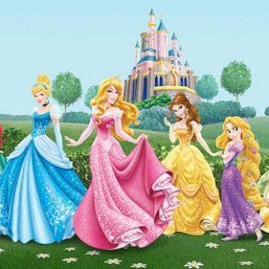 παιδικη φωτοταπετσαρια πριγκιπισσες 1-5325