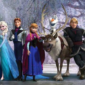 παιδικη φωτοταπετσαρια Frozen 1-5347