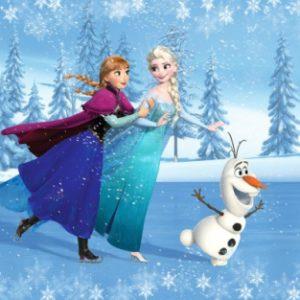παιδικη φωτοταπετσαρια Frozen 1-5366