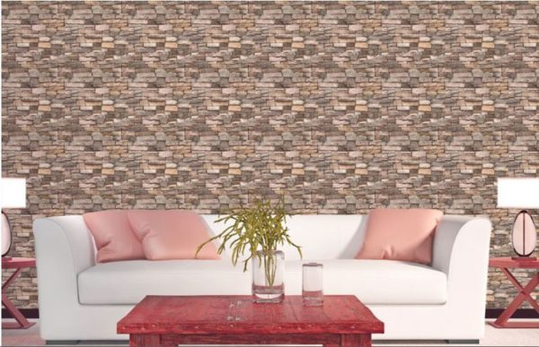 ταπετσαρια τοιχου πετρα  12261dd