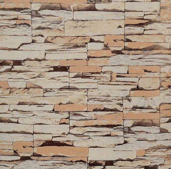 ταπετσαρια τοιχου πετρα 30507