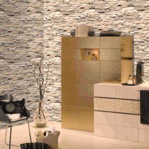ταπετσαρια τοιχου πετρα 30507d