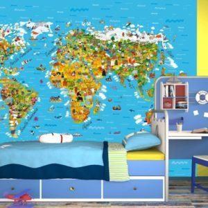 παιδικη φωτοταπετσαρια χαρτης 4-1320