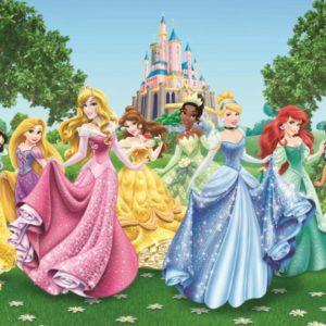 παιδικη φωτοταπετσαρια πριγκιπισσες 4-2207