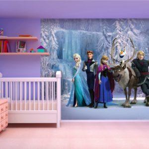 παιδικη φωτοταπετσαρια Frozen 4-5037