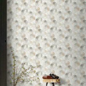 ταπετσαρια τοιχου τριγωνα PP3502