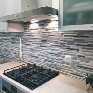 3D PVC panel γραφιτης 8612