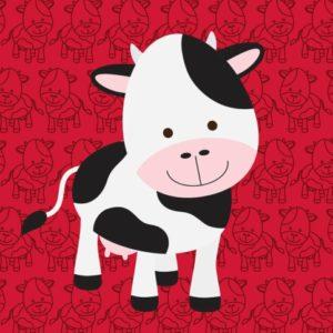 παιδικη φωτοταπετσαρια αγελαδα 10984