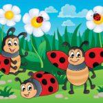 παιδικη φωτοταπετσαρια πασχαλιτσες 11410