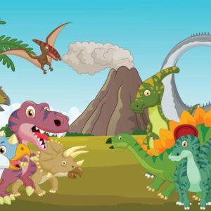 παιδικη φωτοταπετσαρια δεινοσαυροι 11414