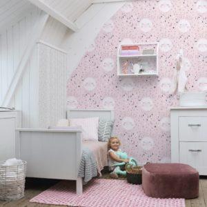 ταπετσαρια τοιχου παιδικη αστερακια248753d