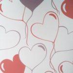 ταπετσαρια τοιχου καρδουλες 4558-5