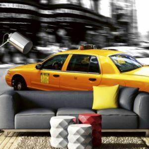 φωτοταπετσαρια τοιχου ταξι MS0007