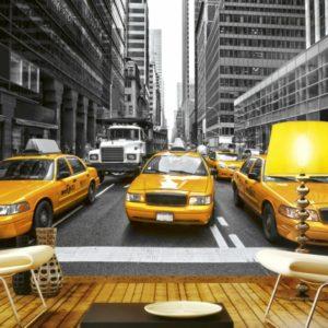 φωτοταπετσαρια τοιχου ταξι MS0008