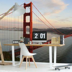 φωτοταπετσαρια τοιχου Golden Gate MS0015