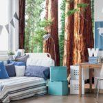 φωτοταπετσαρια τοιχου δασος MS0102