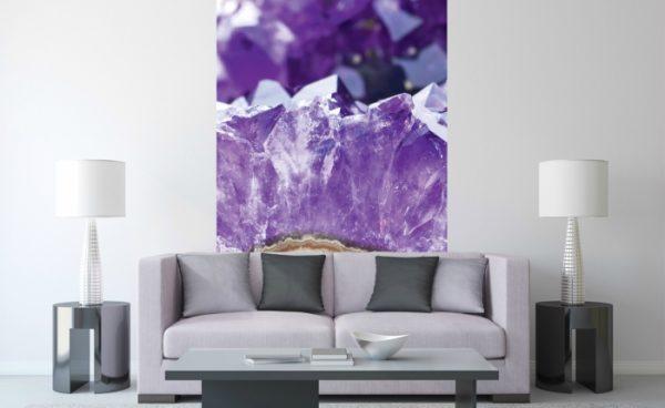 φωτοταπετσαρια τοιχου αμεθυστος MS0181