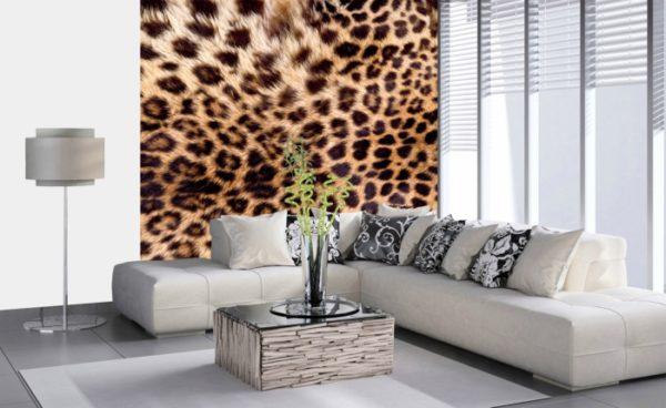 φωτοταπετσαρια τοιχου λεοπαρ MS0184