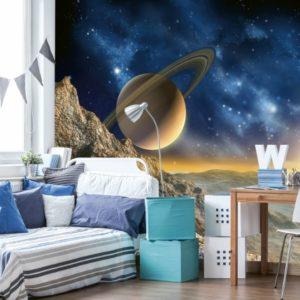 φωτοταπετσαρια τοιχου διαστημα MS0187
