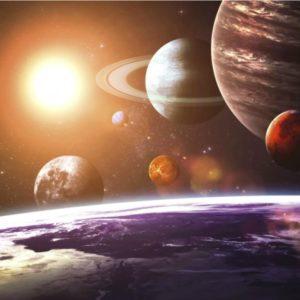 φωτοταπετσαρια τοιχου διαστημα MS0188