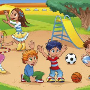 παιδικη φωτοταπετσαρια παιδικη χαρα MS0339